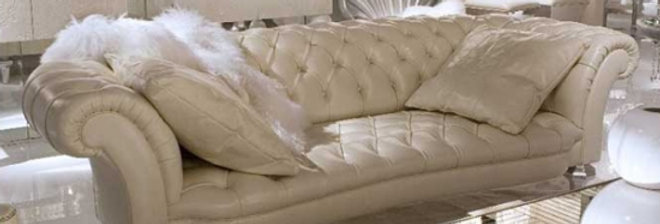 Chester Sofa 826(with two cushions included) 高級輸入ソファ