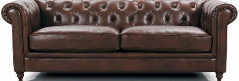 ★期間限定SALE★選べる革Sofa -Classic Tipe- 【SOFA ChesterⅢ】2P 革ソファー