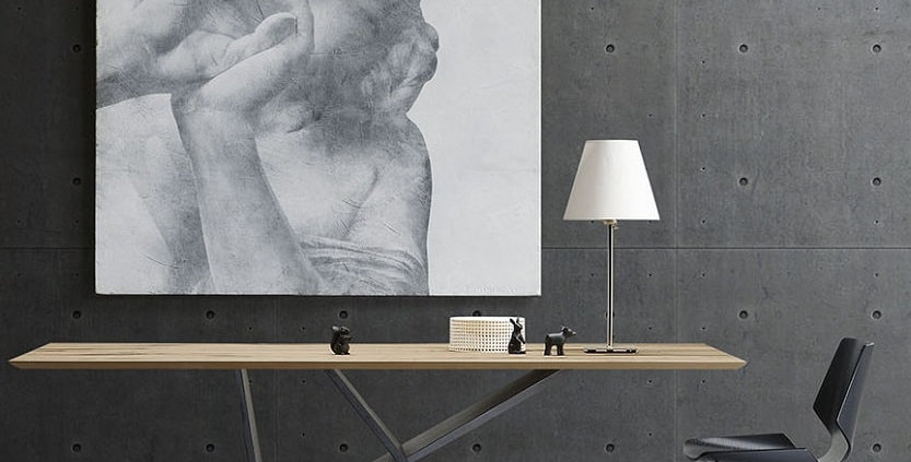 イタリア製 木製天板 ダイニングテーブル EM   輸入ダイニングテーブル