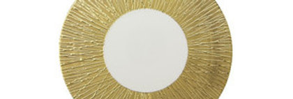 50%OFF LUCIFER(ルシファー) 30.5cm ショープレート ゴールド/ホワイト  LF5131GW