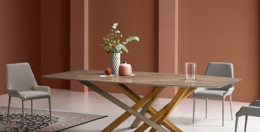 イタリア製 セラミックダイニングテーブル CR