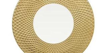 Luzerne COL LEONIS(コルレオニス) 30.5cm ショープレート ゴールド/ホワイト、 CL5131GW