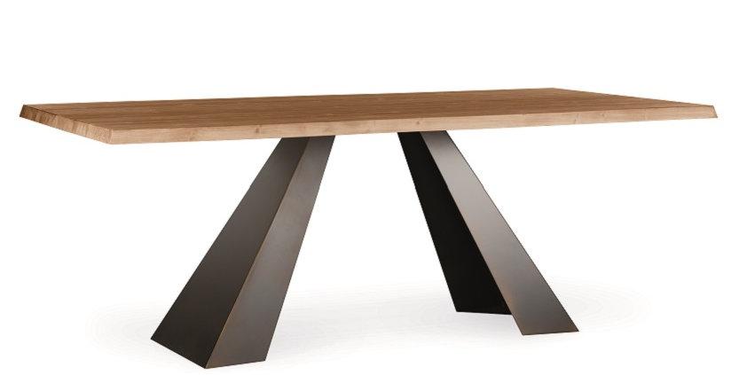 イタリア製 無垢天板  ダイニングテーブル VE   輸入ダイニングテーブル