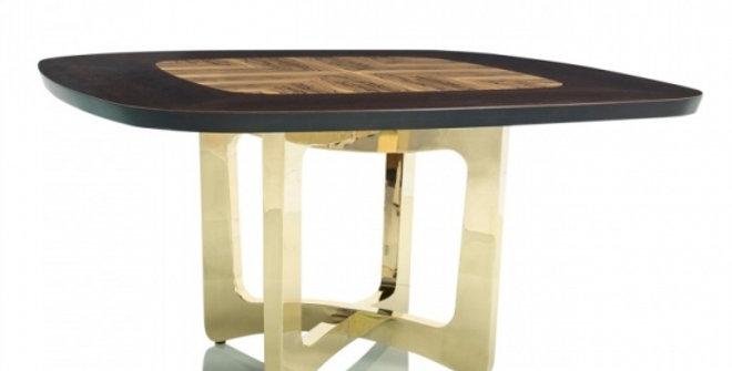 高級ダイニングテーブル R SQUARE  輸入ダイニングテーブル