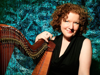 Harpist Triona Marshall tenderly brings back the sound of James Joyce's world