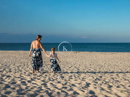Mommy & Me Session: Jess & Lilly - Rexhame Beach, Marshfield, MA