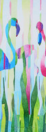 2018_FlamingoFamily_Acryl_100x100_WIX.jp