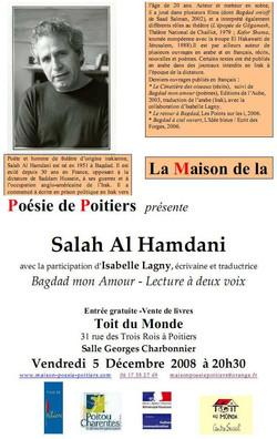 Affichette de Poitiers