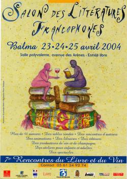 Salon de livre à Balma 2004