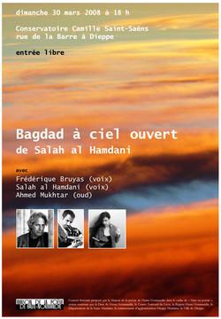 Affiche Bagdad à ciel ouvert 2008