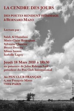 18 mars 2010 B. Mazo.