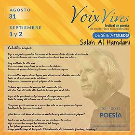 Salah Al Hamdani Poèmes Extraits En Espagnole