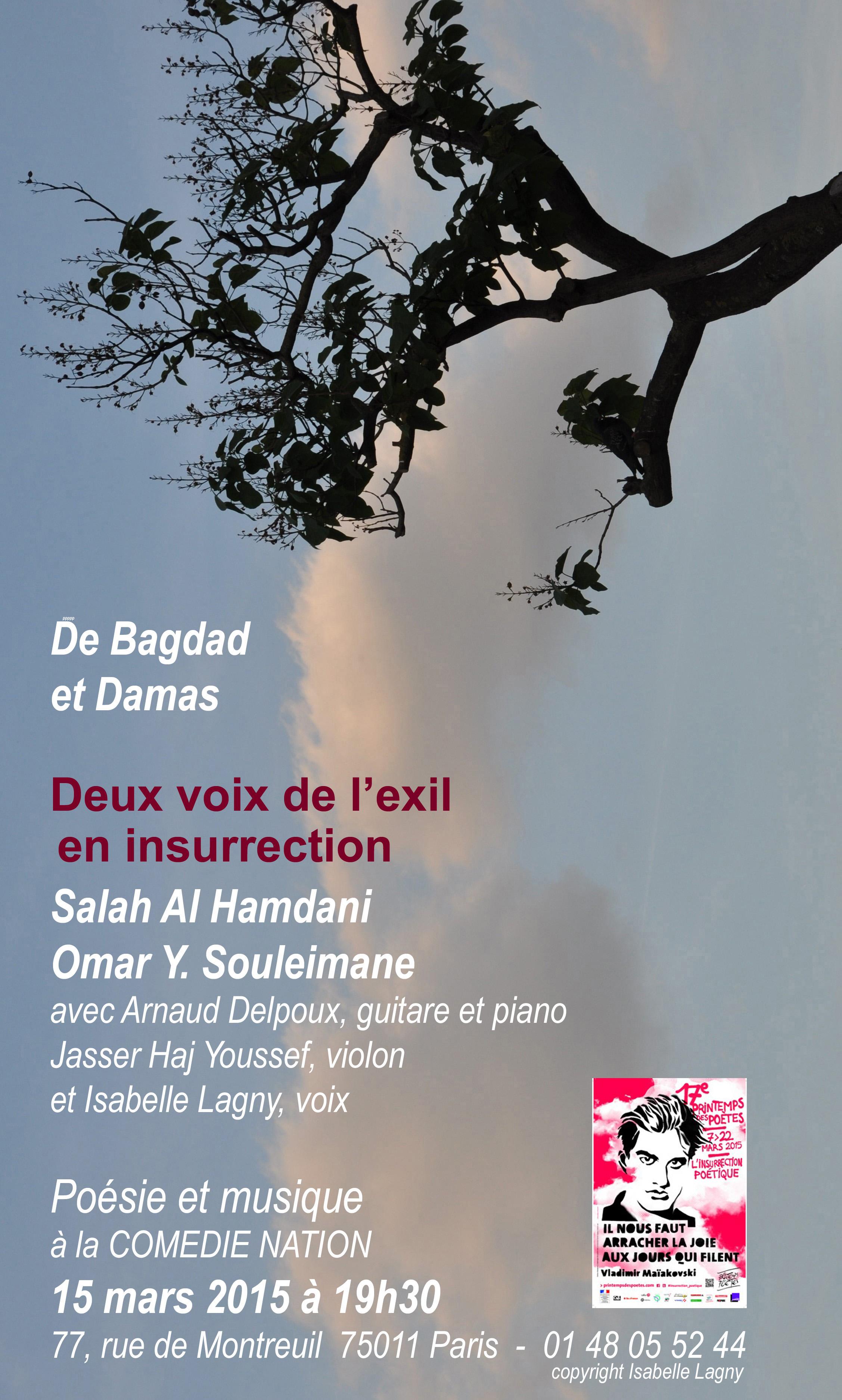 De Bagdad et Damas 2015