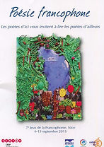 16) poésies francophone, 2013