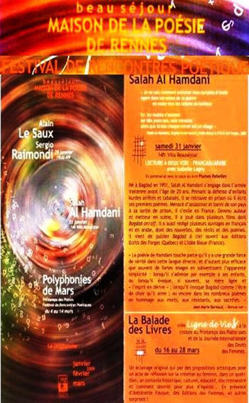 Programme à Renne 2009