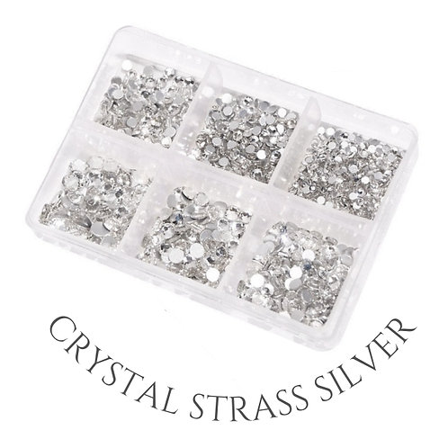 Crystal Strass Silver