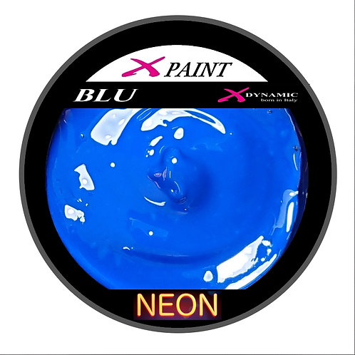 X Paint Blu Neon