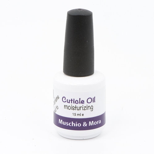 Olio per cuticole al Muschio e Mora