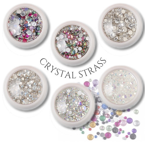 Crystal Strass Mix Color