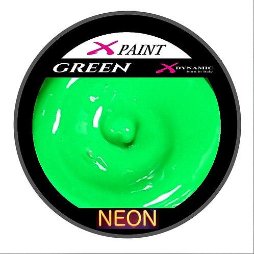 X Paint Green Neon