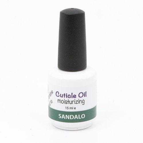 Olio per cuticole al Sandalo