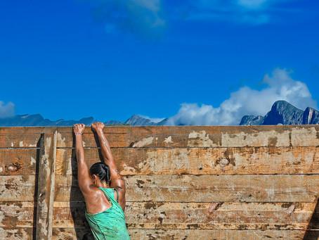 A luta contra os enormes obstáculos
