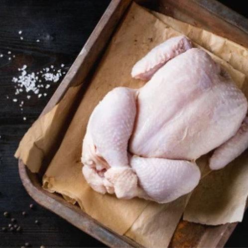 Poulet fermier bio à réserver (9€/kg)
