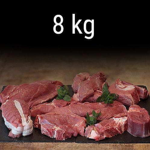 Colis de Veau - BIO - 8Kg  (15€/kg)