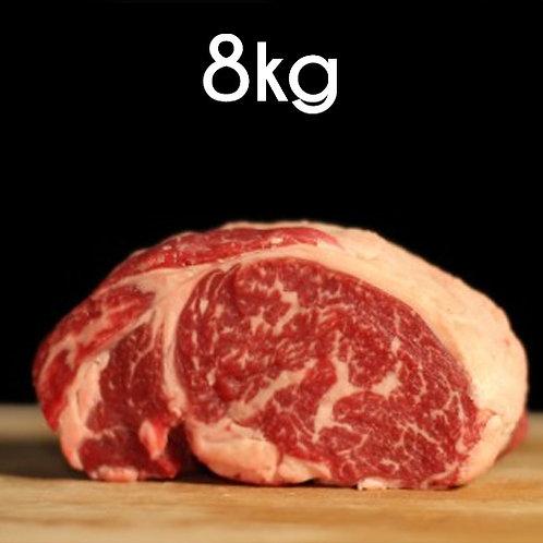Colis Gourmet Black Angus BIO - 8kg    18€/kg