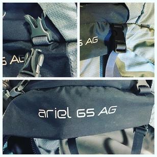 Outdoor GEARWORKS- Osprey backpack repai