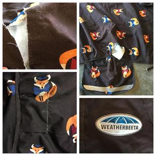 Outdoor GEARWORKS- horse blanket repaire