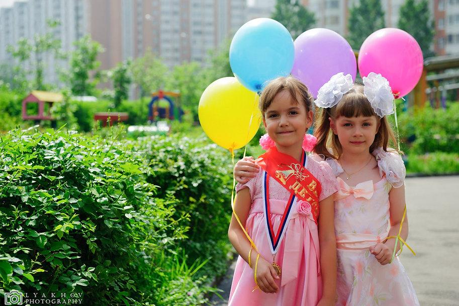 фотосессия на выпускной в детский сад и на 1 сентября в школу