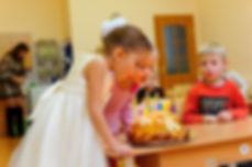 фотосессия на день рождения ребенка, детский праздник, фотосъемка детей