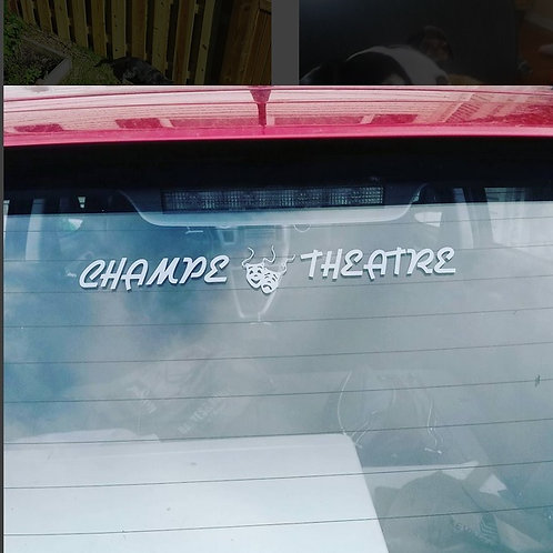 Champe Theatre Decal