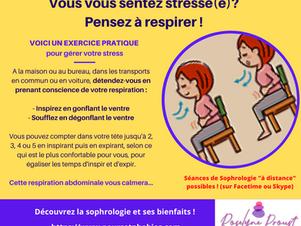 Exercice anti-stress facile !