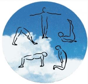enchaînement de gymnastique douce