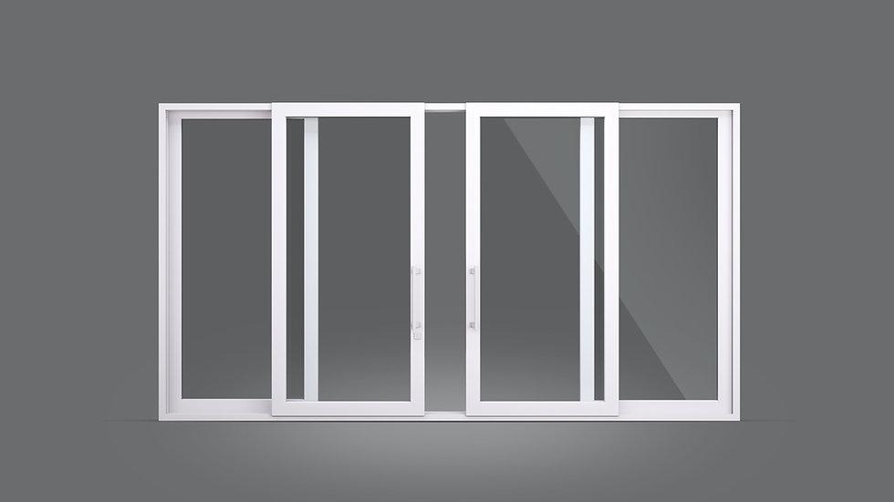 Porta e janela de correr - Grandes vãos