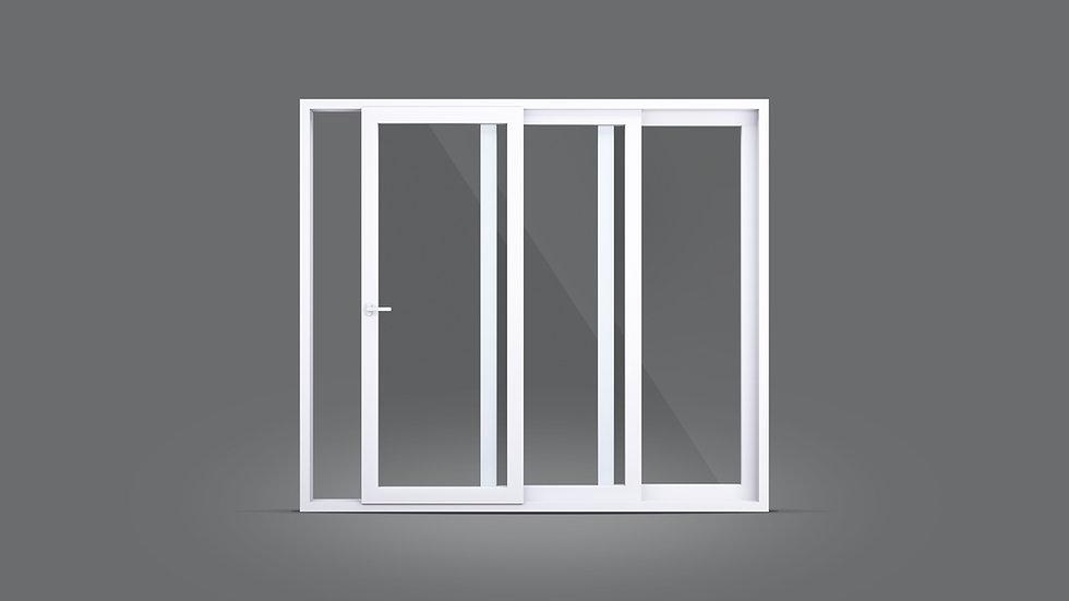 Porta e janela de correr