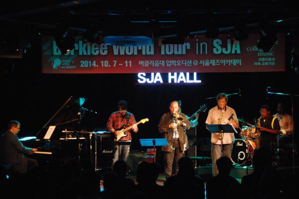 Berklee Faculty Concert at SJA
