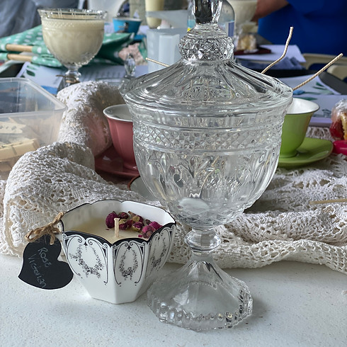 High Tea & Scented Candle-making (1)