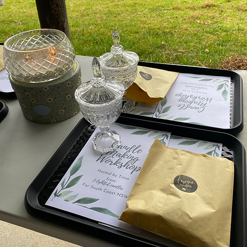 High Tea and Scented Candle-making