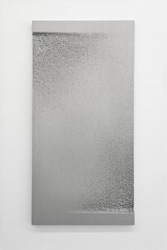 'Sunk' no. 4 Aluminium cast 120x60x3cm 2015