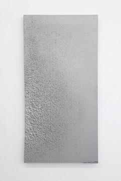 'Sunk' no. 2 Aluminium cast 120x60x3cm 2015