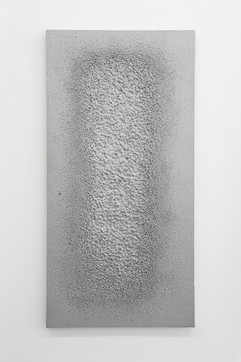 'Sunk' no. 3 Aluminium cast 120x60x3cm 2015