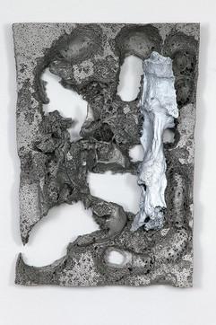 Untitled Aluminium cast 35x47x7cm 2015