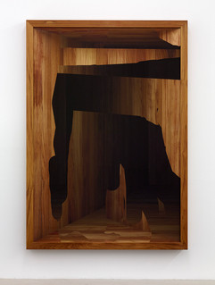 'Excavation' no. 1 Fine art print on hahnemuhle, dibond, glass and teak frame 200x140x15cm 2014