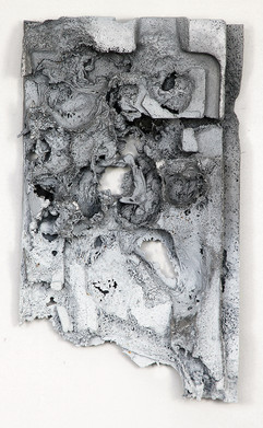 Untitled Aluminium cast 53x38x6cm 2015