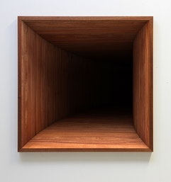 'Void' no. 1 Fine art print on hahnemuhle paper, dibond, museum glass and mahogany frame 2016