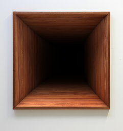 'Void' no. 3 Fine art print on hahnemuhle paper, dibond, museum glass and mahogany frame 2016