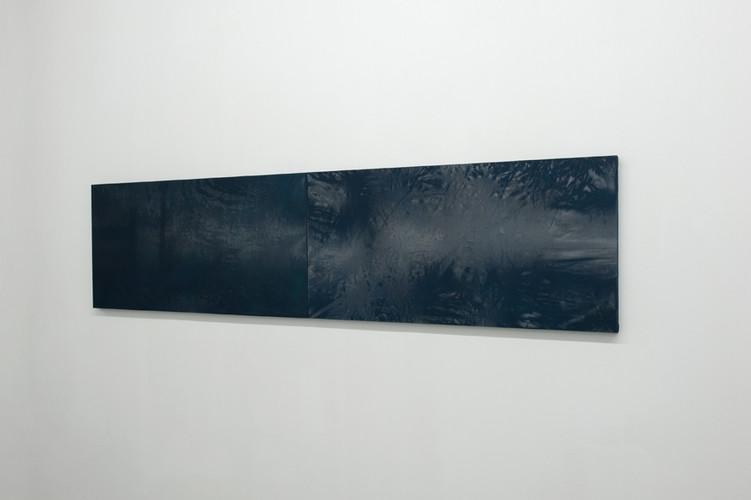 14_Liquids 1_spray paint on textile moun